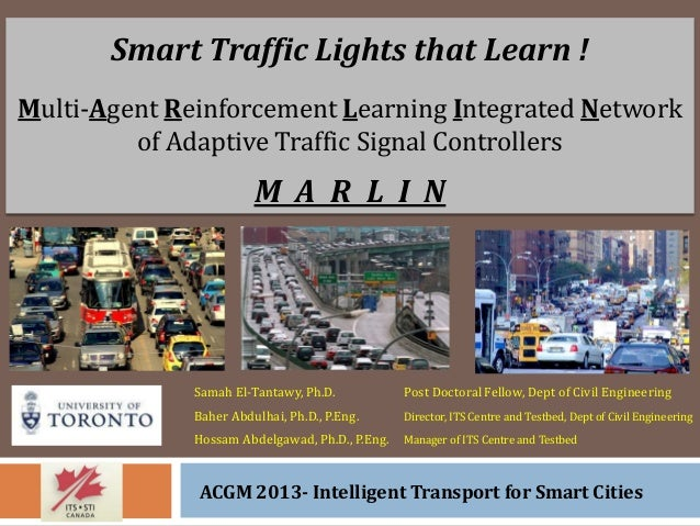 Smart Traffic Lights that Learn !    Multi-Agent Reinforcement Learning Integrated Network  of Adaptive Traffic Signal Controllers