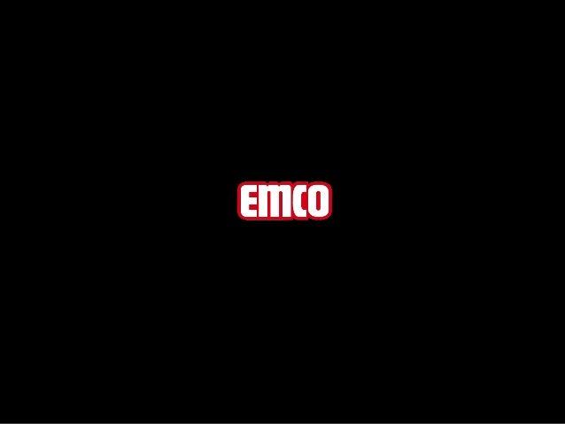 emco ECOLINE® PIONIER