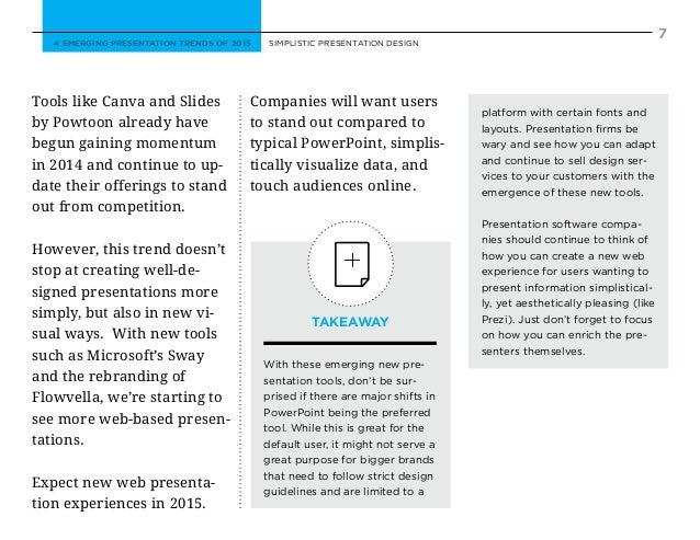 Presentation Design Trends Presentation Design Tools