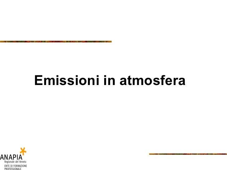 4 Emissioni Atmosfera