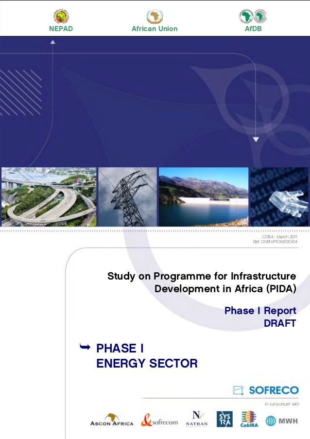 energy for africa draft study PIDA Study: Phase I Volumes