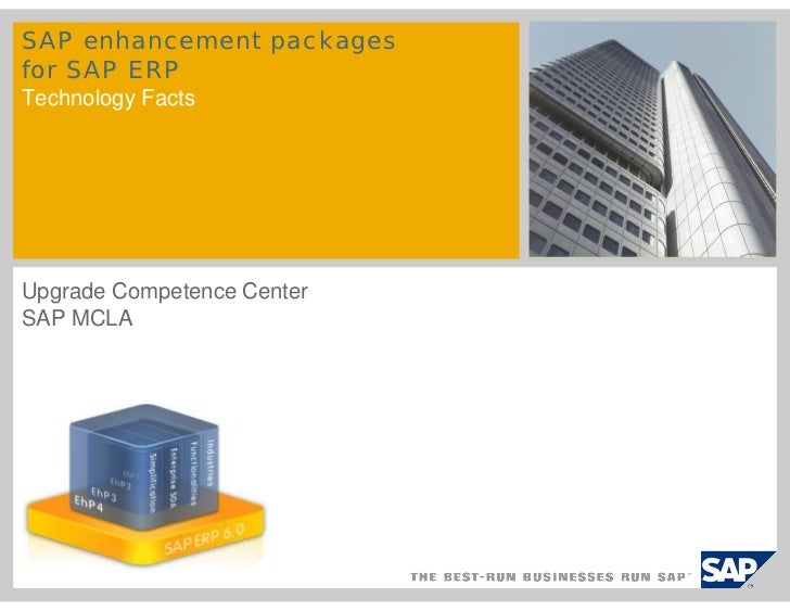 4   Enhacement Packages   Mejoras Funcionales Erp 6.0