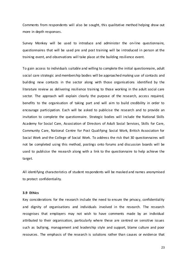 Qualitative analysis - Dissertation Service UK