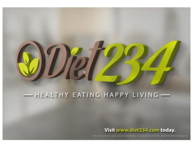 Diet234 Brochure