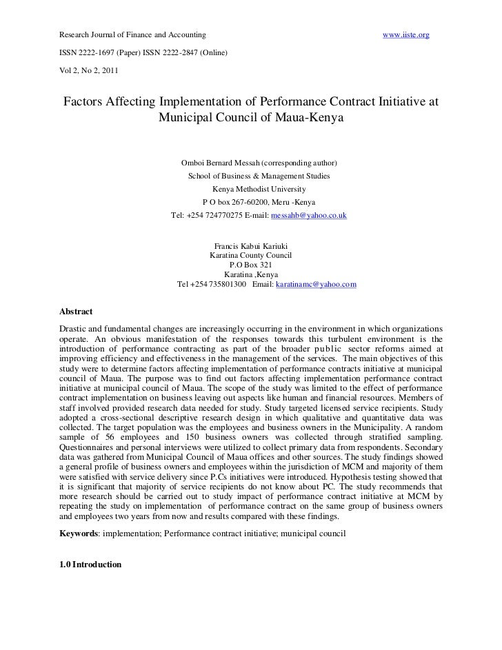 Research Journal of Finance and Accounting                                                www.iiste.orgISSN 2222-1697 (Pap...