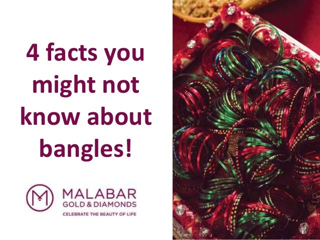 4 facts you might not know about bangles!