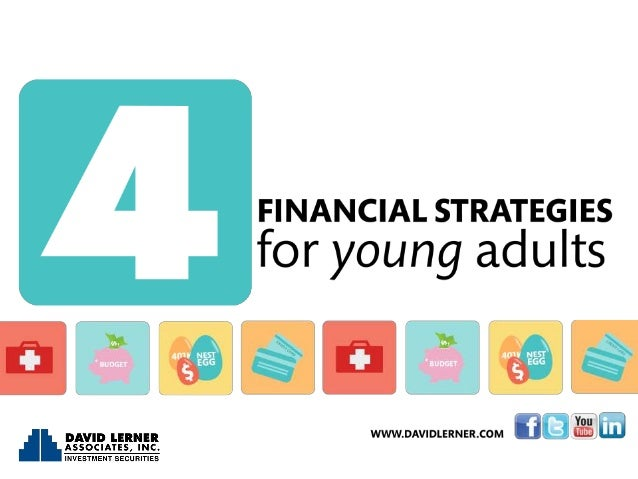 4 Financial Strategies for Young Adults