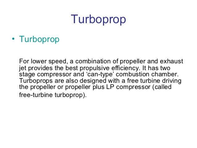Propulsive Efficiency Propeller Propulsive Efficiency
