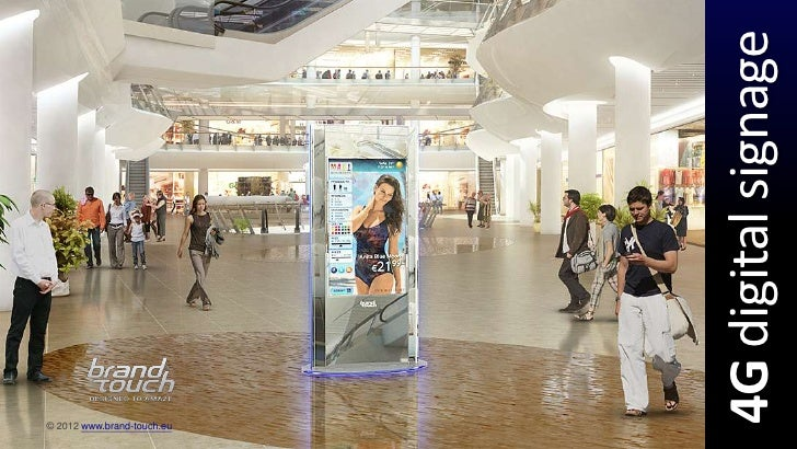 4G Digital Signage | Brand Touch at Green Day Forum 2012