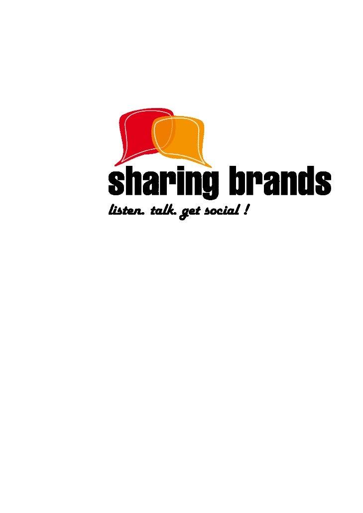 Get Social!, fase del modelo Sharing Brands de entrada en social media