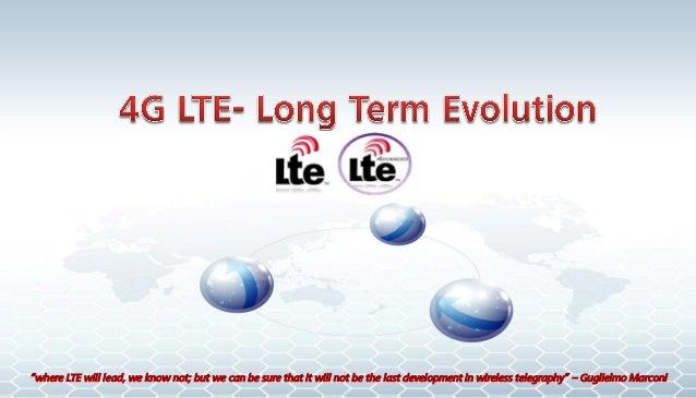 4 g long term evolution introduction 18-jan-2014