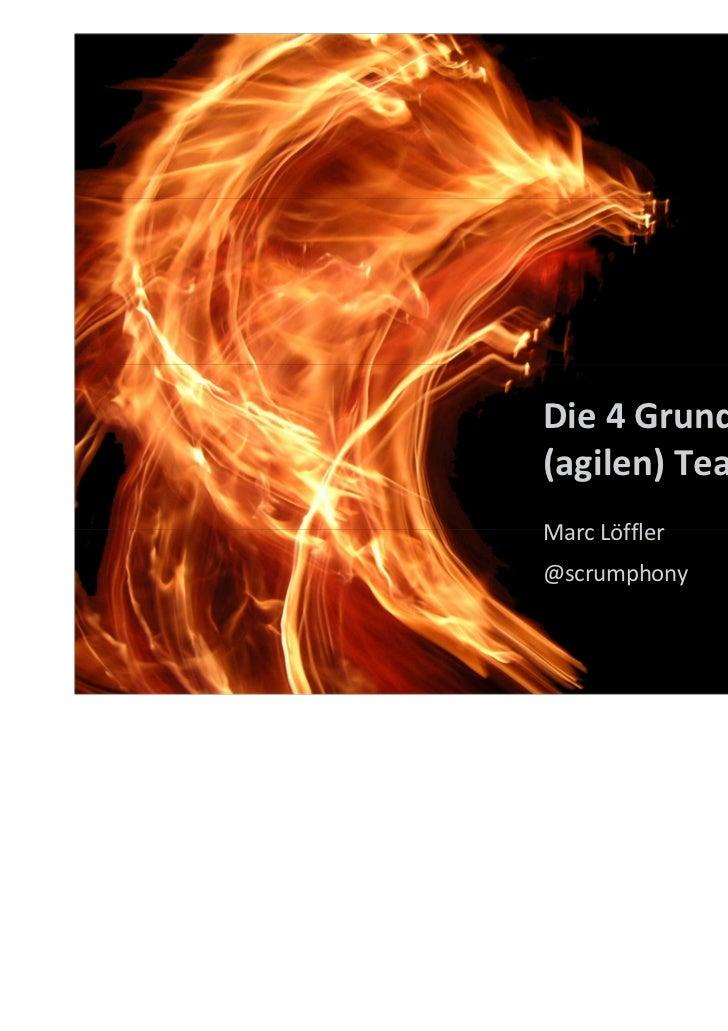 Die 4 Grundübel in(agilen) TeamsMarc Löffler@scrumphony