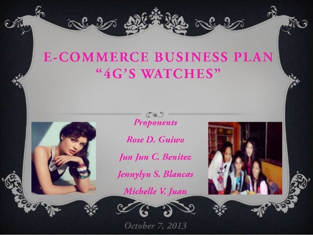 4G's watches presentation