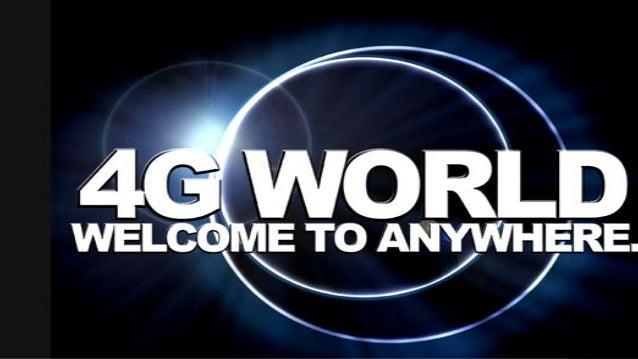 4 g world