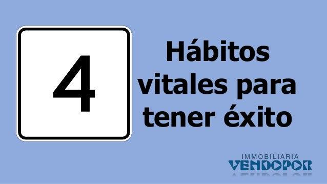 Hábitos vitales para tener éxito