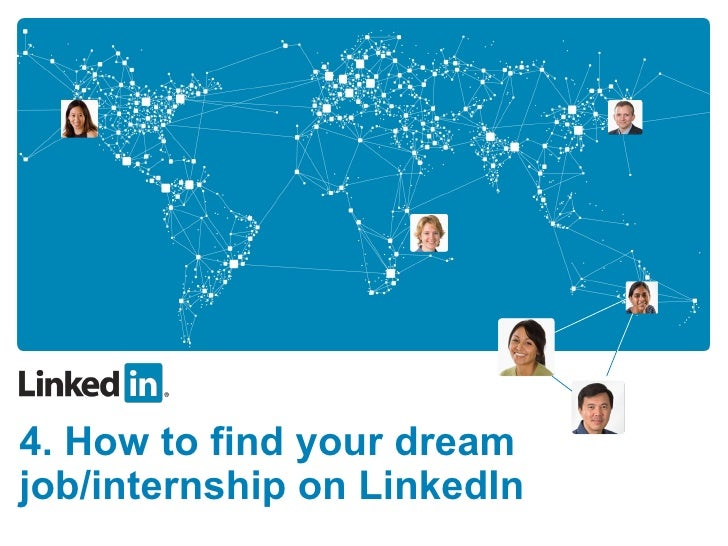 (4) How to find your dream job or internship on linked in