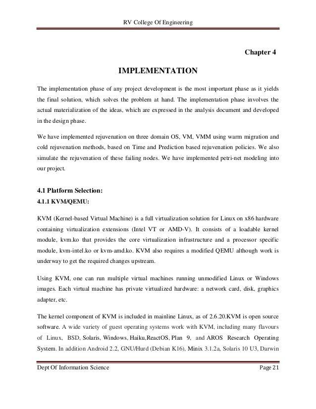 4 implementation