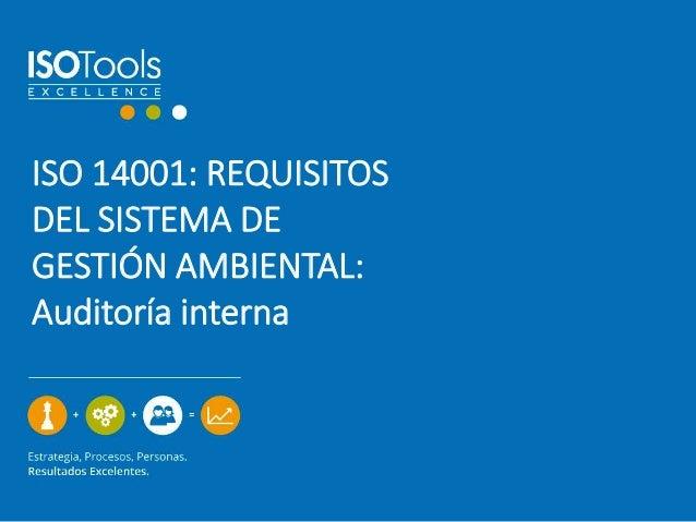 Auditoria Ambiental Interna Auditoría Interna