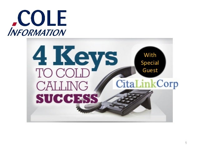 4 Keys to Cold Calling Success