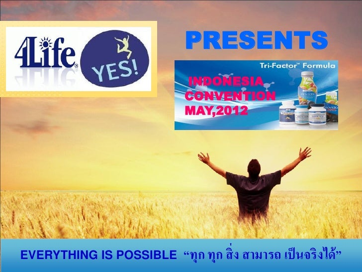 4 life indonesia convention may,2012
