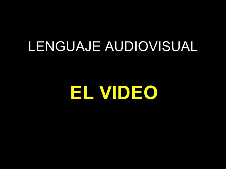 4ºmed lenguaje audiovisual