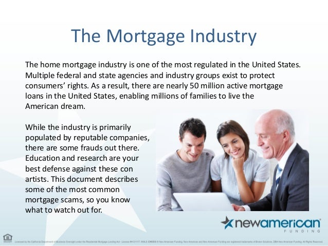 What is mortgage funding?