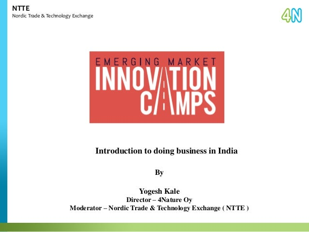 Introduction to Doing Business in India