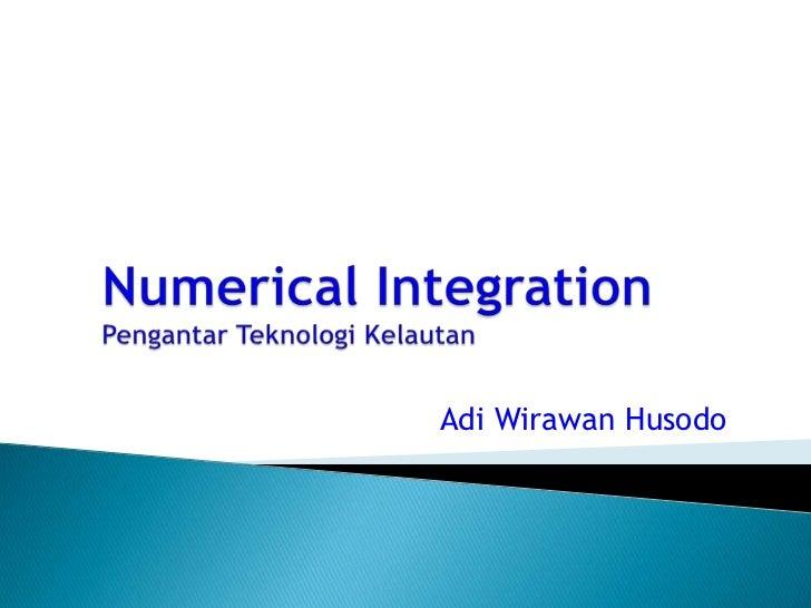 [4] num integration