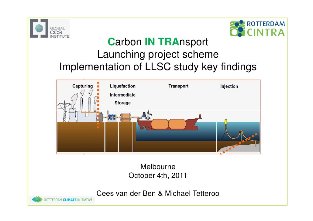 Michael Tetteroo and Cees van der Ben - CCS Projects – Presentation at the Global CCS Institute Members' Meeting: 2011
