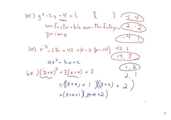4 Polynomials Feb 17