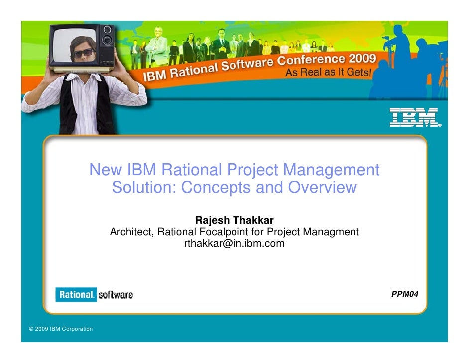 New IBM Rational Project Management                       Solution: Concepts and Overview                                 ...