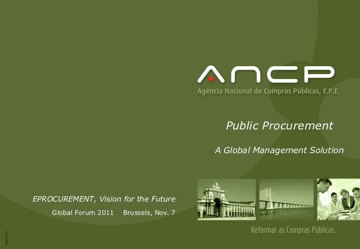 Public Procurement                                                        A Global Management Solution             EPROCUR...