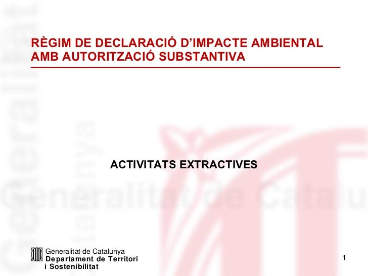 Llei PCAA. Activitats extractives.pps