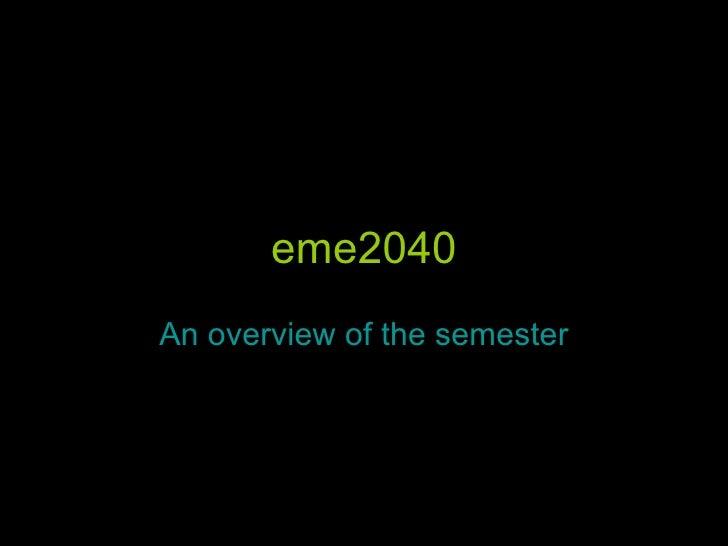 eme2040 - A review