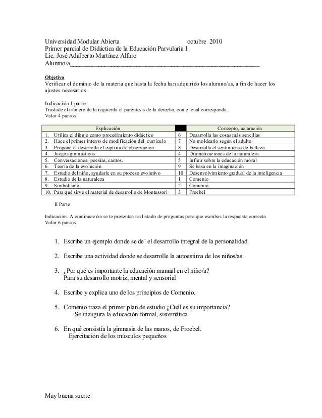 4º prueba objetiva