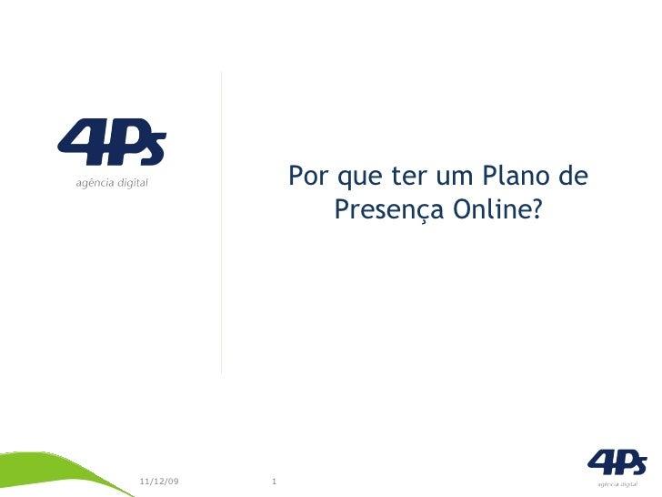 Plano de Presença Online