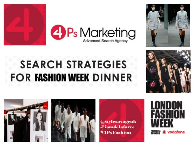 Search Strategies for Fashion Week