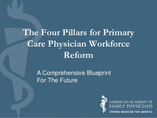 The Four Pillars for Primary Care Physician Workforce Reform A Comprehensive Blueprint For The Future