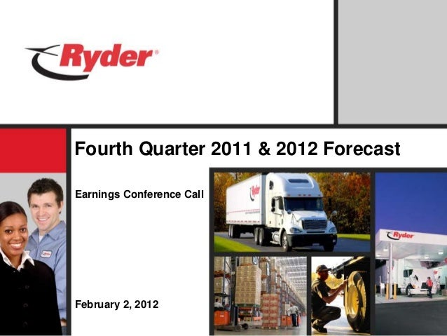 Fourth Quarter 2011 & 2012 Forecast Earnings Conference Call February 2, 2012