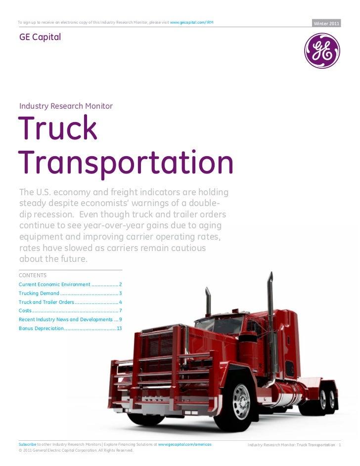 4 Q11 Transportation Monitor