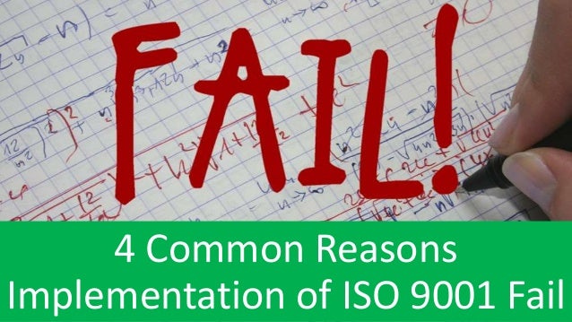 """what are some common reasons for implementation failure She says, some failures are of failure's causes and contexts will intelligent failures """"trial and error"""" is a common term for the."""
