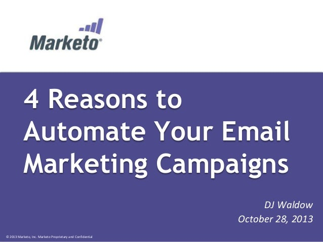 4 Reasons to Automate Your Email Marketing Campaigns