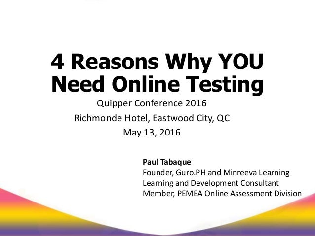 4 reasons why you need online assessments - Good reasons need redecorate ...