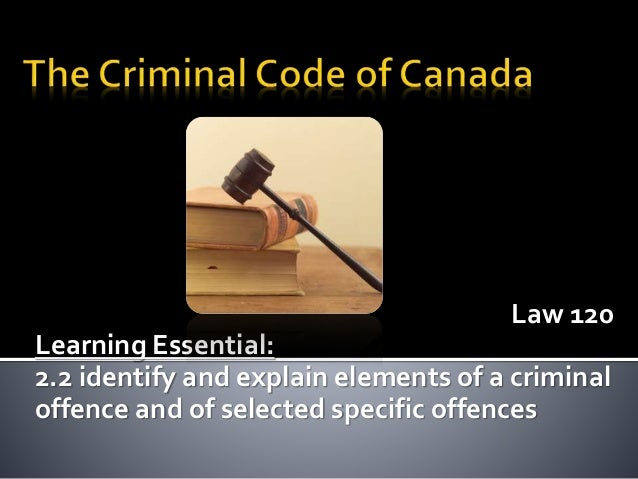 how to change the canadian criminal code