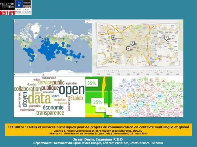 Visualisation de données & Open data (Introduction)