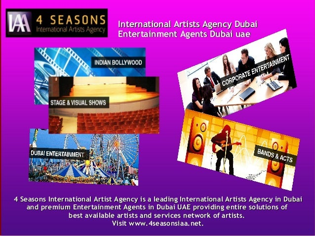 International Artists Agency Dubai, Entertainment Agents Dubai UAE