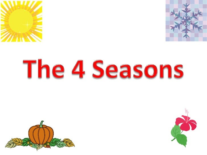 The 4 Seasons<br />