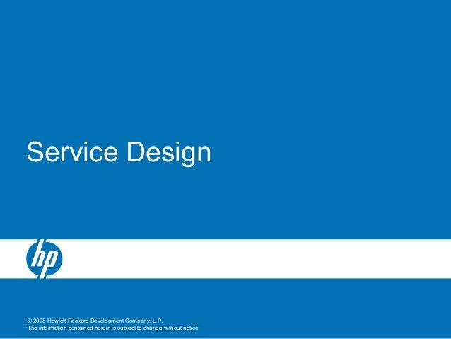 4 service design