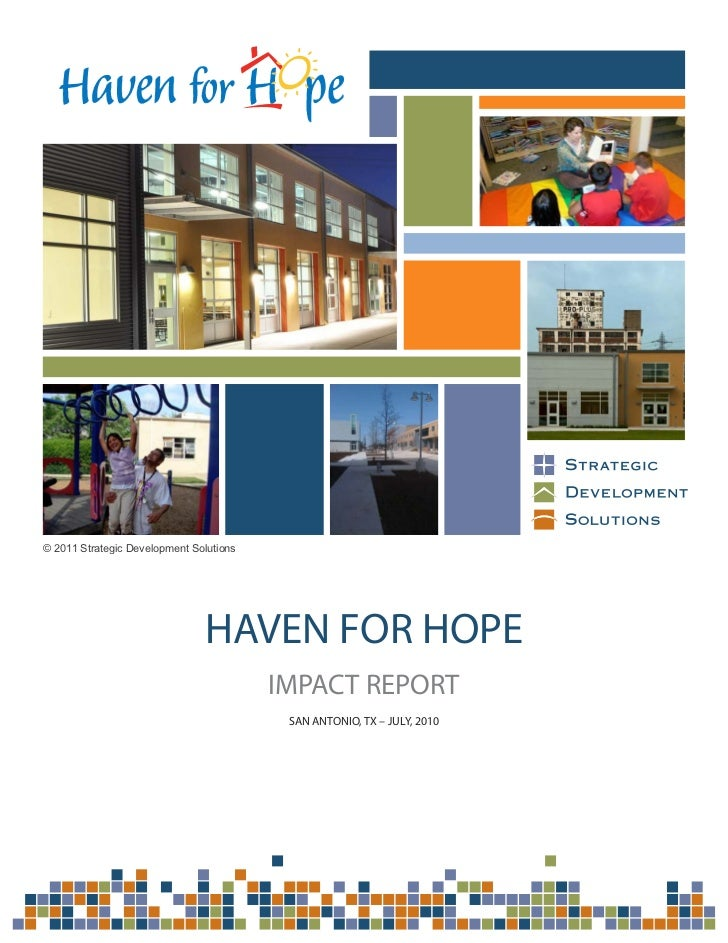 SDS Impact Report: Haven for Hope
