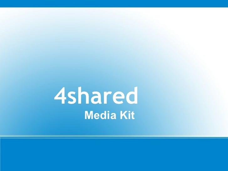 4shared   Media Kit